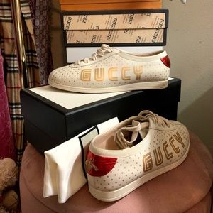 """Authentic Gucci """"Guccy"""" sneakers"""